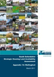 Appendix 14 Wallingford - South Oxfordshire District Council