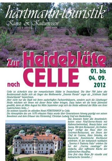 nach CELLE nach CELLE - hartmann-touristik