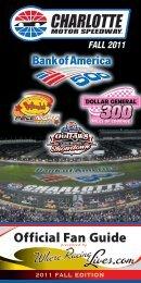 FALL 2011 - Charlotte Motor Speedway