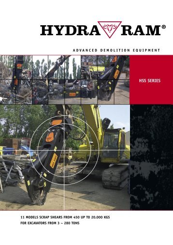 Scrap Shears catalogue