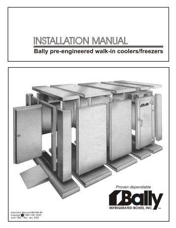 Bally DL Extra Wide Freezers BMIL International Inc