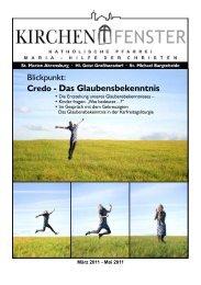 Rückblick + Ausblick - Katholische Kirche St. Michael Bargteheide