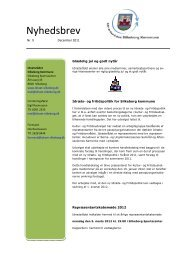 2011/9 - december - Idrætsrådet Silkeborg Kommune
