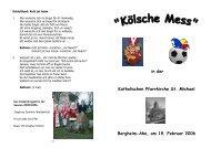 (Kölsche Mess 2006) - St. Michael, Ahe