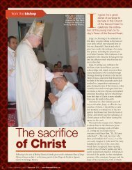 The sacrifice of Christ - Diocese of Tulsa