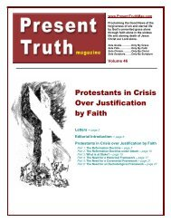 PTM 34 Christ Our Righteousness part 3 pdf - Present Truth Magazine