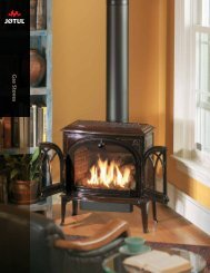Show PDF document - Jøtul stoves and fireplaces