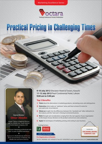 Practical Pricing in Challenging Times - Octara.com