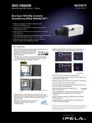SNC-VB600B - Sony
