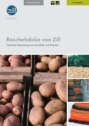 Raschelsäcke (Kartoffeln, Gemüse), 132 kB, PDF - Zill GmbH & Co. KG