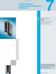 Alimentadores y Amplificadores Aisladores.pdf - SETAMS SA