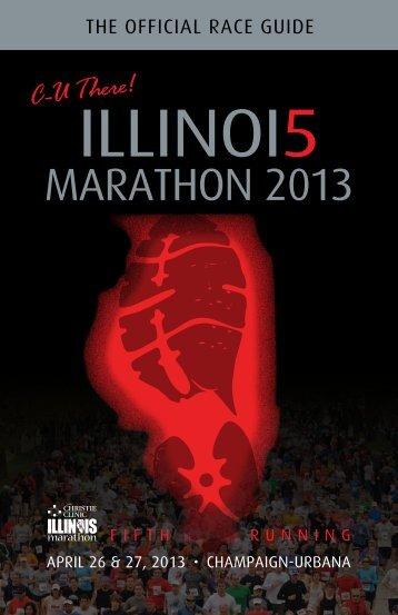2013 Official Race Guide - Illinois Marathon