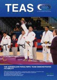 03 / 2012 the azerbaijani paralympic team demonstrates its ... - TEAS