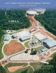 2013 CMAA PROJECT ACHIEVEMENT AWARDS