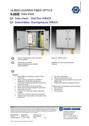 LISA WB425 - Data sheet/ Datenblatt - Composites
