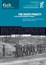 THE DEATH PENALTY - Refworld