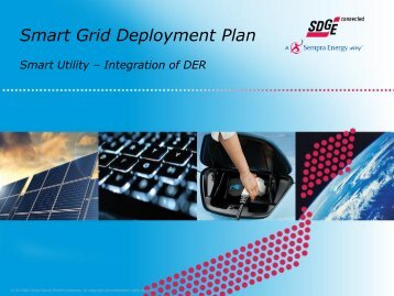 Smart Grid Deployment Plan - California Public Utilities Commission