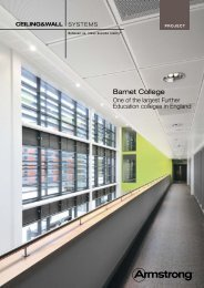 Barnet College - Armstrong Ceilings