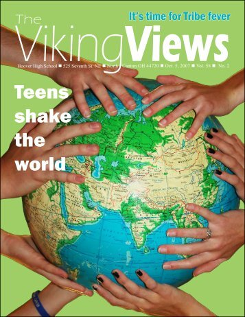 Teens shake the world - North Canton City Schools - sparcc