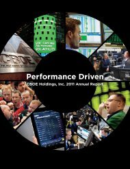 2011 Annual Report - CBOE.com