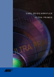 ARRI Brochure Ultra Prime Lenses - Carl Zeiss, Inc.