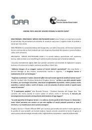Comunicato stampa - Idra Group