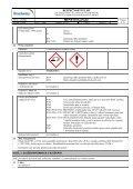 Bezpečnostní list - PEMA Velkoobchod drogerie - Page 2