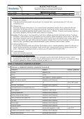 Bezpečnostní list - PEMA Velkoobchod drogerie - Page 6