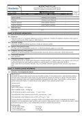 Bezpečnostní list - PEMA Velkoobchod drogerie - Page 7