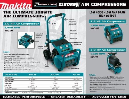 0039-04 Compressor Brochure (Page 1) - Makita on