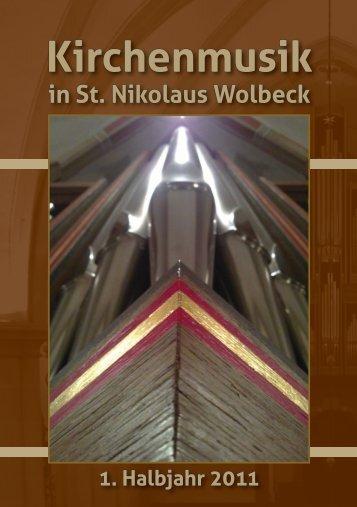 Das Gebet der Orgel - St Nikolaus Wolbeck