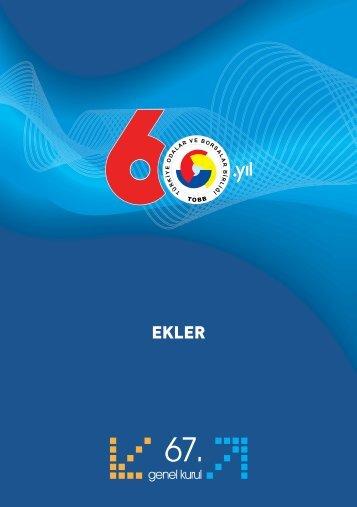 ekler - Tobb