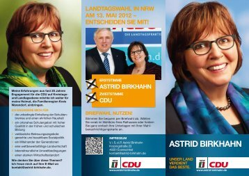 Astrid Birkhahn MdL