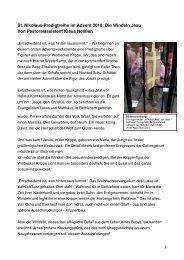 predigt 27.11. windeln[1] - St Nikolaus Wolbeck
