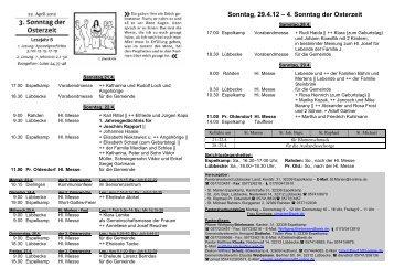 Nr 16 - 16. Sonntag im Jahreskreis - Pastoralverbund - Lübbecker ...