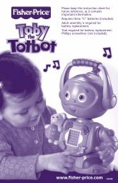 Toby the Totbot - RobotsAndComputers.com
