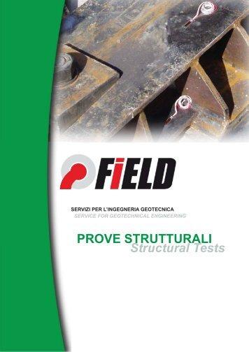 PROVE STRUTTURALI Structural Tests - Hystrix