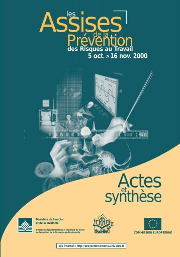 assises de la prevention des risques au travail - Comprendre pour agir