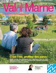 ValdeMarne n°270 / Juillet-Août 2010 - Conseil général du Val-de ...
