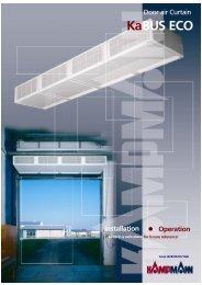 Kabus-Eco Door Air-Curtain - Keane Environmental