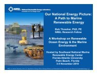 Robert Thresher, U.S. National Renewable Energy Laboratory
