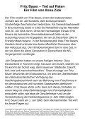 Ein Film von Ilona Ziok in der Volkshochschule Essen Burgplatz 1 ... - Seite 2