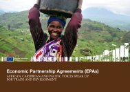 Economic Partnership Agreements (EPAs) - Trade Websites - Europa