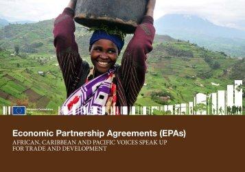 Economic Partnership Agreements (EPAs) - Trade Websites - Europa