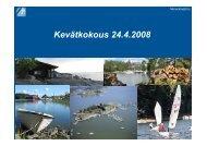 Toimintasuunnitelma 2008 - Merenkavijät ry