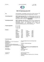 DELTA HYDROSTOP plus 9.04 - CD-Color GmbH & Co.KG
