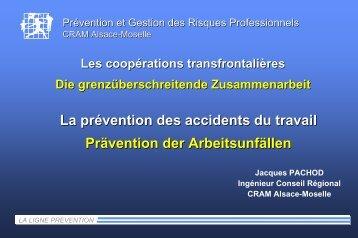 Prävention von Arbeitsunfällen
