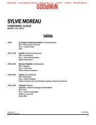 SYLVIE MOREAU - Agence Goodwin
