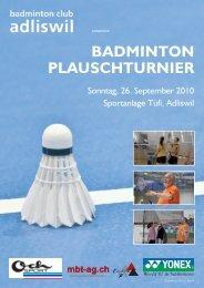 BVAZ - Badminton Club Adliswil