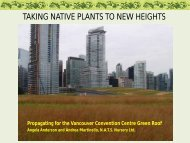 TAKING NATIVE PLANTS TO NEW HEIGHTS